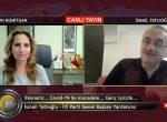 27.04.2020 – Bursada Bugün TV'de Aysın Komitgan ile Politik Programının Canlı Yayın Konuğu Olduk
