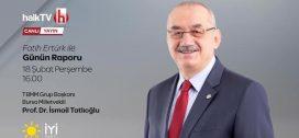 """18.02.2021 – Halk TV """"Fatih Ertürk ile Günün Raporu"""""""