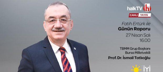 """27.04.2021 – Halk TV """"Fatih Ertürk ile Günün Raporu"""""""