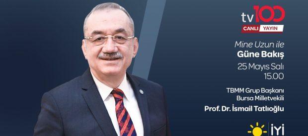 """25.05.2021 – TV100 – """"Mine Uzun ile Güne Bakış"""""""